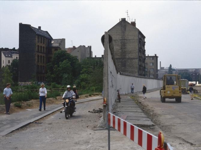 Abriss der Berliner Mauer